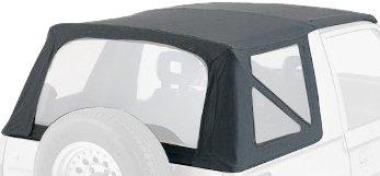 Rampage Jeep 98815 Denim Black OEM Replacement Soft Top