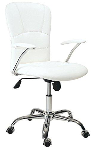 Adec - Silla maggie, medidas 58 x 55 x 106 cm, color Blanco