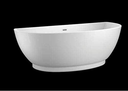 Carver Tubs Trinity 69 Freestanding Soaking Tub 69″L x 31″W x 23.5″H