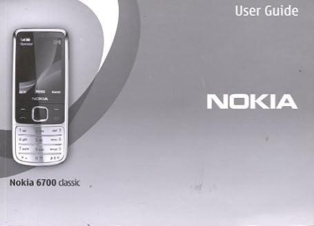 nokia 6700 classic mobile phone user guide nokia amazon com books rh amazon com Nokia N95 Nokia 7230 Games