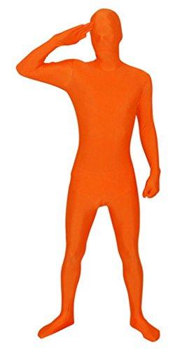 Full Body Spandex Suit Costume (XX-Large, Orange) (Red Morph Suits)