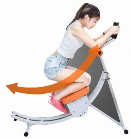 H-TRAINING Muscle Training 腹筋運動 ダイエット 腹部脂肪除去 全身筋肉運動 下半身運動 Fitness Home training AB WHITE(海外直送品)   B07MC4SFZW