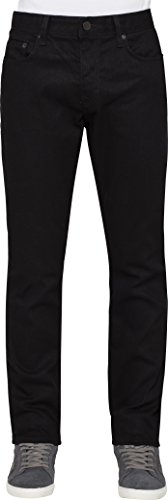 Calvin Klein Jeans Men's Slim Cut Jean In Black, Black, (Calvin Klein 5 Pocket Jeans)