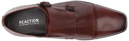 Kenneth Cole Mens Design 20724 Monk-strap Cognac Mocassino