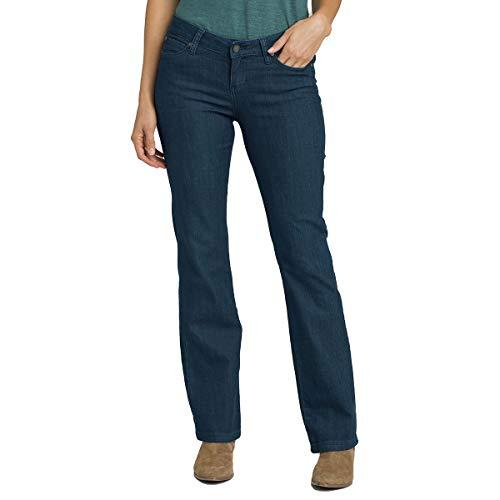 (prAna Women's Jada Jean-Short Inseam Pant, Indigo, Size 2)