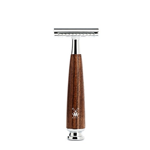 MÜHLE RYTMO Closed Comb Double Edge Safety Razor, (Ash Tree Handle)