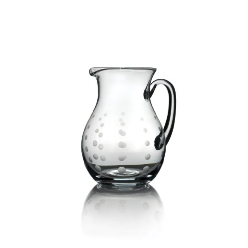 Mikasa Beverage Glass - Mikasa Cheers Glass Beverage Pitcher, 3.25-Quart