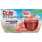 Dole Red Grapefruit Sunrise 4-4 Ounce Cups