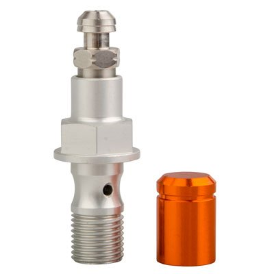 Easy Bleed Banjo Bolt Orange for KTM 300 XC-W (E-Start) 2008-2013 Tusk Racing