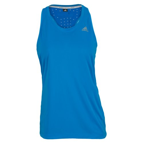 adidas Women's Clima Chill Tank Top Solar Blue XS