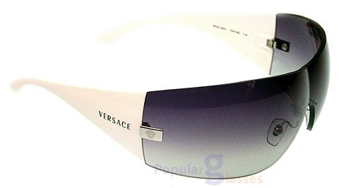 Versace 2054 10008G GRAYGRADIENT/SHINYWHITE Designer - Glasses Cleaning Versace Cloth