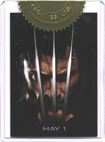 - X-Men Origins Wolverine Movie Poster Case Topper Card #558