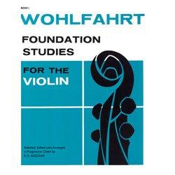 Carl Fischer Wohlfahrt Foundation Studies Book 1 (Violin)