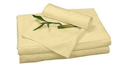 BedVoyage Sheet Set, Butter, Queen