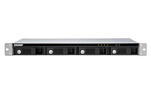 QNAP TR-004U 1U 4 Bay Hard Drive Enclosure Direct Attached Storage (Das) with Hardware RAID USB 3.0 Type-C by QNAP