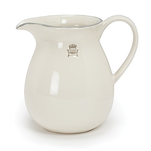 Abbott Collection Weekend Stoneware Pitcher, Small by Abbott Collection