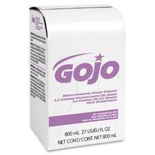 Gojo 914212CT Moisturizing Hand Cream, 800mL, 12/CT, White
