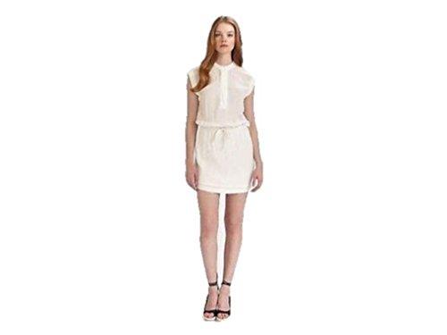 James Perse Drawstring Waist White Dress (3) ()