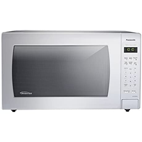 Panasonic NN SN936W Countertop Microwave With Inverter Technology 2 2 Cu Ft White