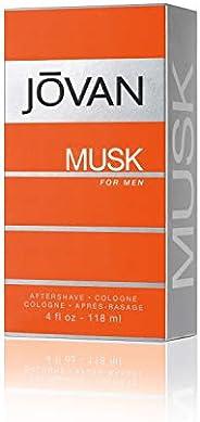 Jovan Musk By Jovan For Men. Aftershave/Cologne Splash 4.0oz Bottle