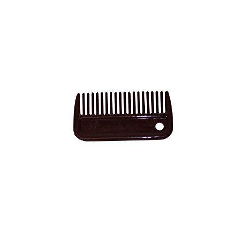 Bitz Plastic Mane Comb (Small) (BURGUNDY)