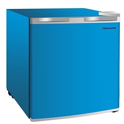 Frigidaire EFR115-BLUE 1.6 Cu Ft Compact Fridge for Office, Dorm Room, Mancave or RV, Blue (Best Mini Fridge With Freezer 2019)