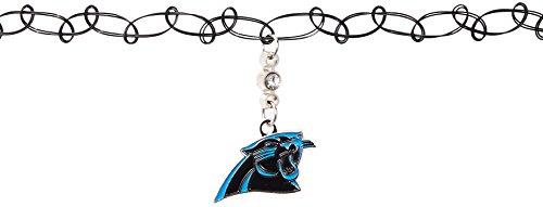 Siskiyou NFL Carolina Panthers Knotted Choker, Black, Stretch]()