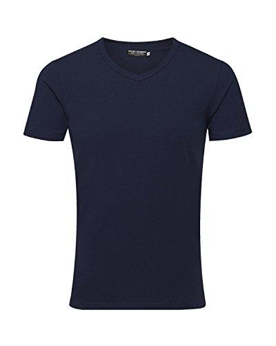 homme shirt T V coupe Jones pièces 22 12059219 basique Tee Jack shirt Mix Neck 4 qw4EYXY