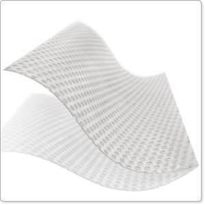 "Mepitel One The one-sided Wound Contact Layer: 6.8"" x 10"" (17 x 25 cm), (Pack of 40)"