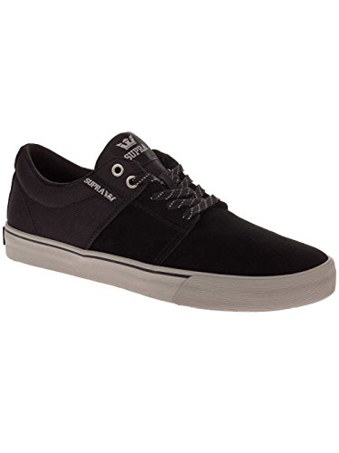 Stacks Vulc Black Supra grey Sneakers Uomo da grey II 1pxxRdqw