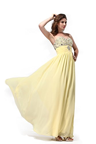 2016 Dresses Sweetheart Turquoise Women's Chiffon Queen Prom Long Sleeveless Rhinestones Hot qfwza