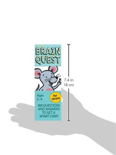 Brain Quest for Threes, revised 4th edition: 300 Questions and Answers to Get a Smart Start by Brainquest (Image #2)