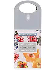 Heathcote & Ivory Vintage & Co Patterns & Petals Hand Sanitiser, 20ml