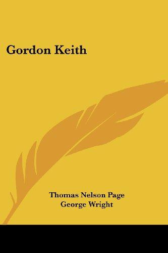 Gordon Keith by Thomas Nelson Page