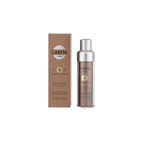 Carita Progressif Anti-Age Solaire Sun Cream for Face SPF 50 3657 50ml/1.69oz