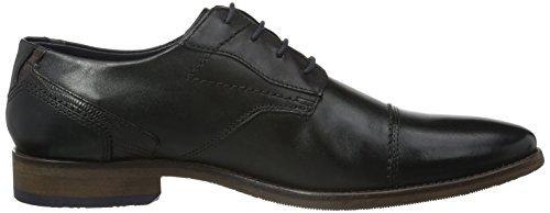 Bugatti 312164011000, Zapatos de Cordones Derby para Hombre Negro (schwarz 1000schwarz 1000)