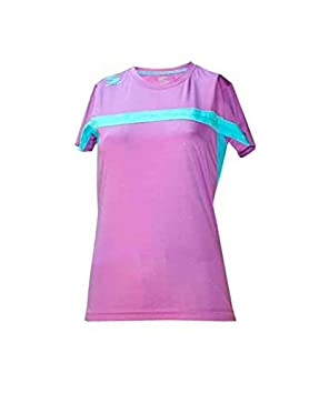 Camiseta Padel Softee Club Mujer Violeta Verde: Amazon.es ...