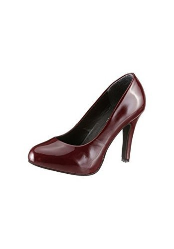 Andrea Conti Pumps High Heel Aus Lacksynthetik von Bordeaux