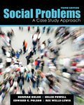 Social Problems: A Case Study Approach 3rd edition by DOLCH NORMAN ALLEN, WISE HELEN K, POLSON EDWARD CLAYTON, (2011) Paperback