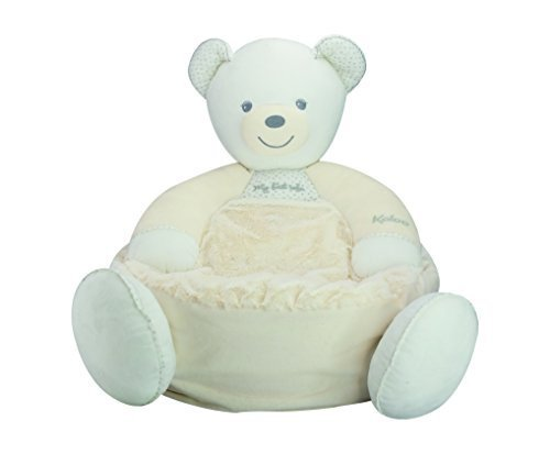 Kaloo Perle Plush Toys, Cream Maxi Sofa Bear by - Maxi Bear Sofa