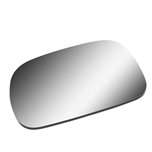 Driver/Left Side Door Rear View Mirror Glass Lens Replacement for 1996-2007 Chrysler Voyager/Dodge Grand Caravan