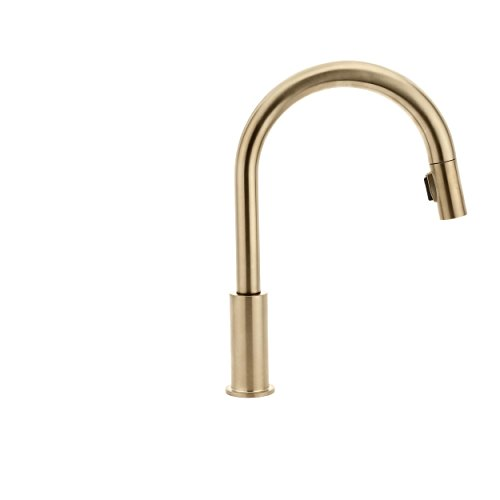 Delta 9159-CZ-DST Trinsic Single-Handle Pull-Down Kitchen Faucet ...