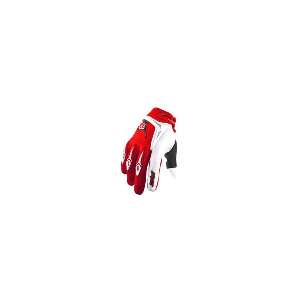 Fox Racing 360 Gloves   11/Bright Red