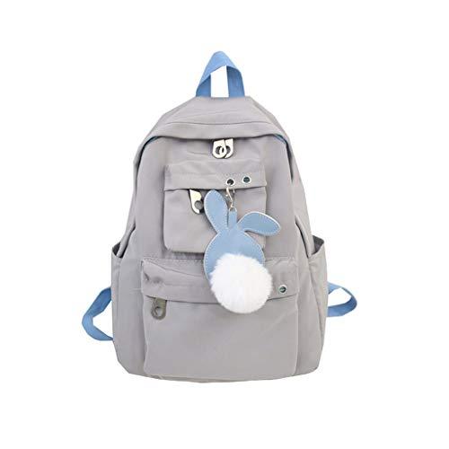(Seaintheson Women's Bag Backpack,School Bag Travel Bag Large Capacity Middle Student Bag)