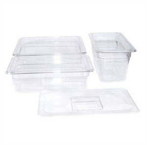 Poly Ware Food Pan (Poly-Ware? Food Pan, Full Size, 6'' Deep, -40??F To 210??F Temp. Range, Dishwasher Safe,(12 Pieces/Unit))