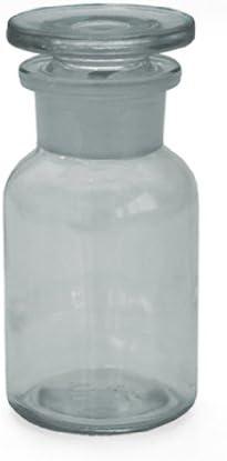 3x frascos de farmacia 100ml–Color: Borrar–Incluye tapón de cristal * * * 5frascos botellas farmacia Cristal Stop Fen Botella Laboratorio Laboratorio Cristal Redondo escolar Ter Botella 5frasc