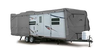 Camco 45770 18' ULTRAGuard Slide-In Camper Cover (88'LC x 108'HB x 44'HC x 102'W)