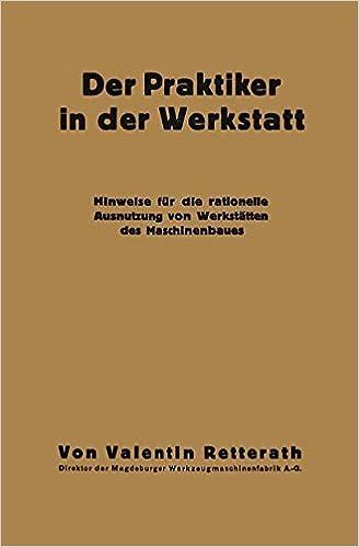 Book Der Praktiker in der Werkstatt
