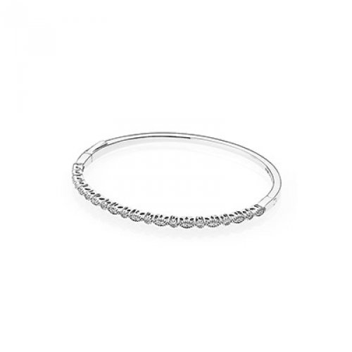 PANDORA Timeless Elegance Bangle 590522CZ-SMALL (Elegance Swag)