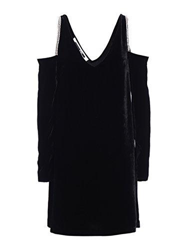 MCQ Alexander McQueen Women's 482412Rif361000 Black Viscose Dress - Alexander Mcqueen Women Dresses